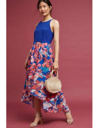 shoptagr isabella floral high low dress by hutch