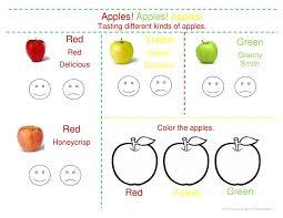 apple tasting in preschool