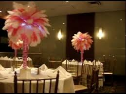Ostrich Feathers For Centerpieces by Coral U0026 White Ostrich Feathers Rentals At The Garden City Hotel Ny
