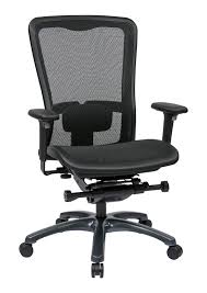 Lumbar Support Chairs Line Ii Progrid Mesh High Back Office Chair With Adjustable Arms