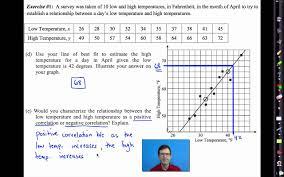 common core algebra i unit 10 lesson 6 bivariate data analysis