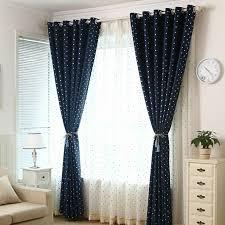 Blackout Navy Curtains Affordable Navy Blackout Polka Dot Curtains