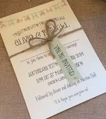 1 vintage u0027olivia u0027 bunting shabby chic style wedding invitation