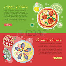 spanische k che paella symbol in flate design isoliert auf weißem hintergrund