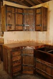 Barn Door Style Kitchen Cabinets 1000 Images About Rustic Cabinets On Pinterest Rustic Cabinets