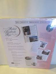 Scrapbook Refill Pages Only 19 99 Vintage Style Creative Memories 12x12