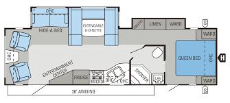 2014 eagle travel trailers floorplans prices jayco inc 2014 eagle travel trailers 298rlds floorplan