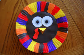 kid friendly thanksgiving crafts paper plate turkey i heart crafty things