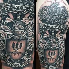 collection of 25 family crest on arm