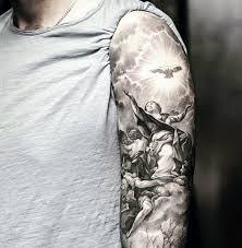 half sleeve catholic tattoos golfian com
