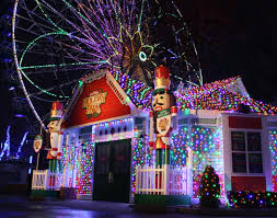 New Jersey Six Flags Address New Holiday In The Park Festival Dazzles At Six Flags Great
