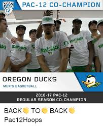 Oregon Ducks Meme - pac 12 co chion oregon ducks men s basketball 2016 17 pac 12