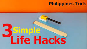 Easy Life Hacks Philippines Trick 3 Simple Life Hacks With Pencil Sharpener
