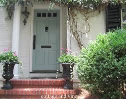cottage and vine my door is blue