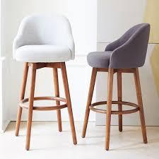 bar stools that swivel modern counter stools swivel trilogy bar stool walnut and cream