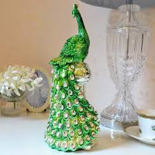 wedding gift ornaments resin peacock ornaments wedding gift ideas and practical fashion