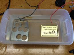 how to electro etch a solid metal plaque 10 steps with pictures