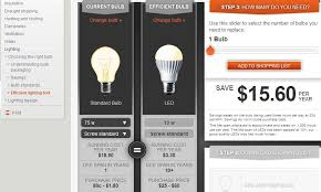 light bulb cost calculator led lighting power savings downloadable calculator