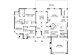 Pueblo House Plans by Small Santa Fe House Plans