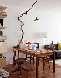 tree branch light fixture crafts home