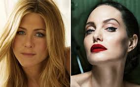 Angelina Meme - what angelina jolie did when jennifer aniston was on golden globes
