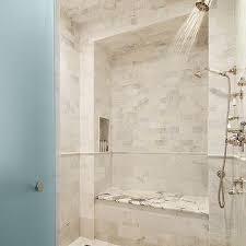 shower bench nook design ideas