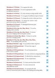 51 english grammar worksheets class 2 instant downloadable