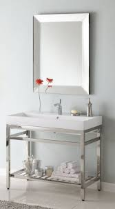 single sink console vanity 40 inch single sink console bathroom vanity with choice of metal