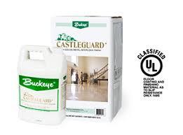 best floor finish castleguard product buckeye floor wax