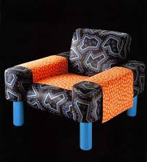 The Angular Skull Armchair Aqqindex George Sowden Oberoi Armchair For Memphis 1981 El