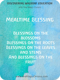 thanksgiving prayers and blessings 5 favorite waldorf mealtime blessing verses the magic onions