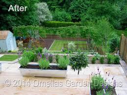 Tiered Garden Ideas Terraced Garden Design Sevenoaks After Tiered In Ornellas Designs