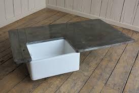 kitchen island worktop zinc kitchen central island worktop and splashbacks pertaining to