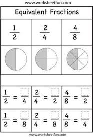 free printable fractions worksheets by valeria math pinterest