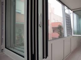 veranda a libro in alluminio a taglio termico raccolta