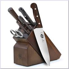 Victorinox Kitchen Knives Fibrox by Knife Case Chefs Large Case Victorinox Rosewood Handle Set