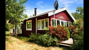 this is little red cottage in denmark small house design youtube
