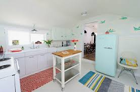 retro kitchen islands kitchens portable kitchen island on casters for efficient space