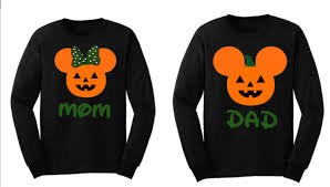 Mickey Mouse Halloween T Shirts by Mickey Mouse Minnie Mouse Long Sleeve Halloween Family