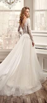 sleeve wedding dresses hot sale sleeve wedding dresses with v neck open back lace