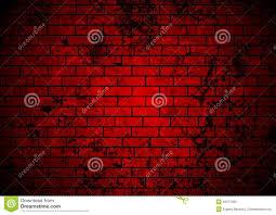dark red grunge brick wall background stock vector image 45071280
