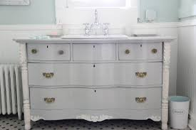 monday makeover 7 tips for turning a dresser into a bathroom
