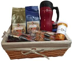 gourmet coffee gift baskets flavored gourmet coffee gift basket java medic coffee