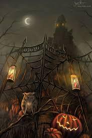 83 haunted house u0026 halloween art images happy