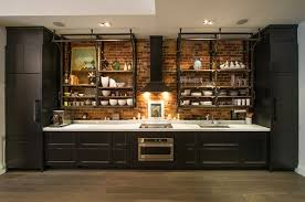 hotte industrielle cuisine hotte de cuisine 7 cuisine style industriel 233l233gance