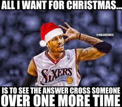 Allen Iverson Meme - rt nbamemes just one more allen iverson crossover http