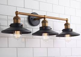 industrial bathroom light fixtures bathroom brilliant industrial bathroom vanity lighting intended