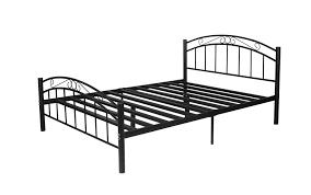 M S Bed Frames Black Metal Bed Frame Sydney Bed
