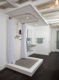 basement bathroom renovation ideas how to best choose your shower curtains bathroom decorating