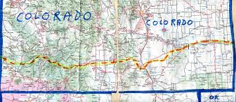 Cortez Colorado Map by The Hikanation Route